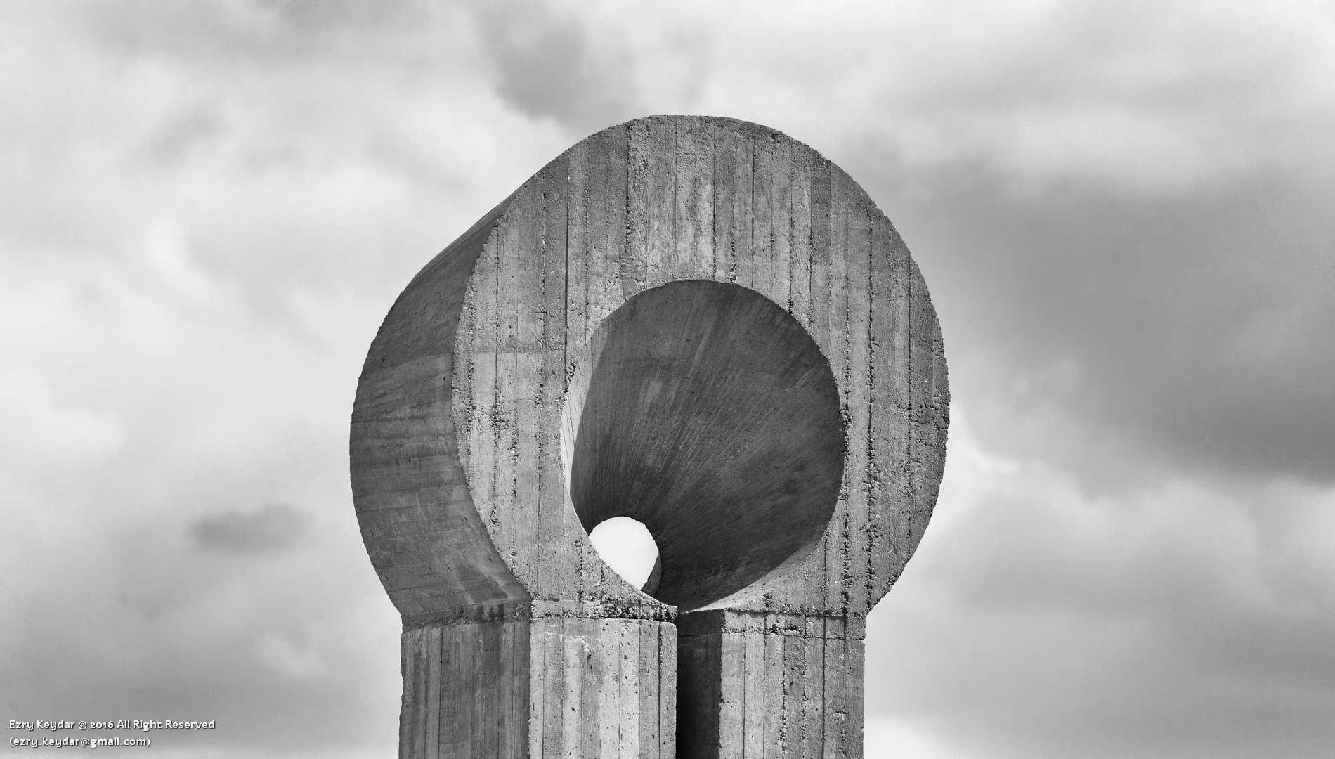 Desert Sculpture Park, Mitzpe Ramon, Jacques Moeschal, Capteur de lumière