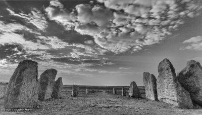 Desert Sculpture Park, Mitzpe Ramon, Ezra Orion, Field of Rocks