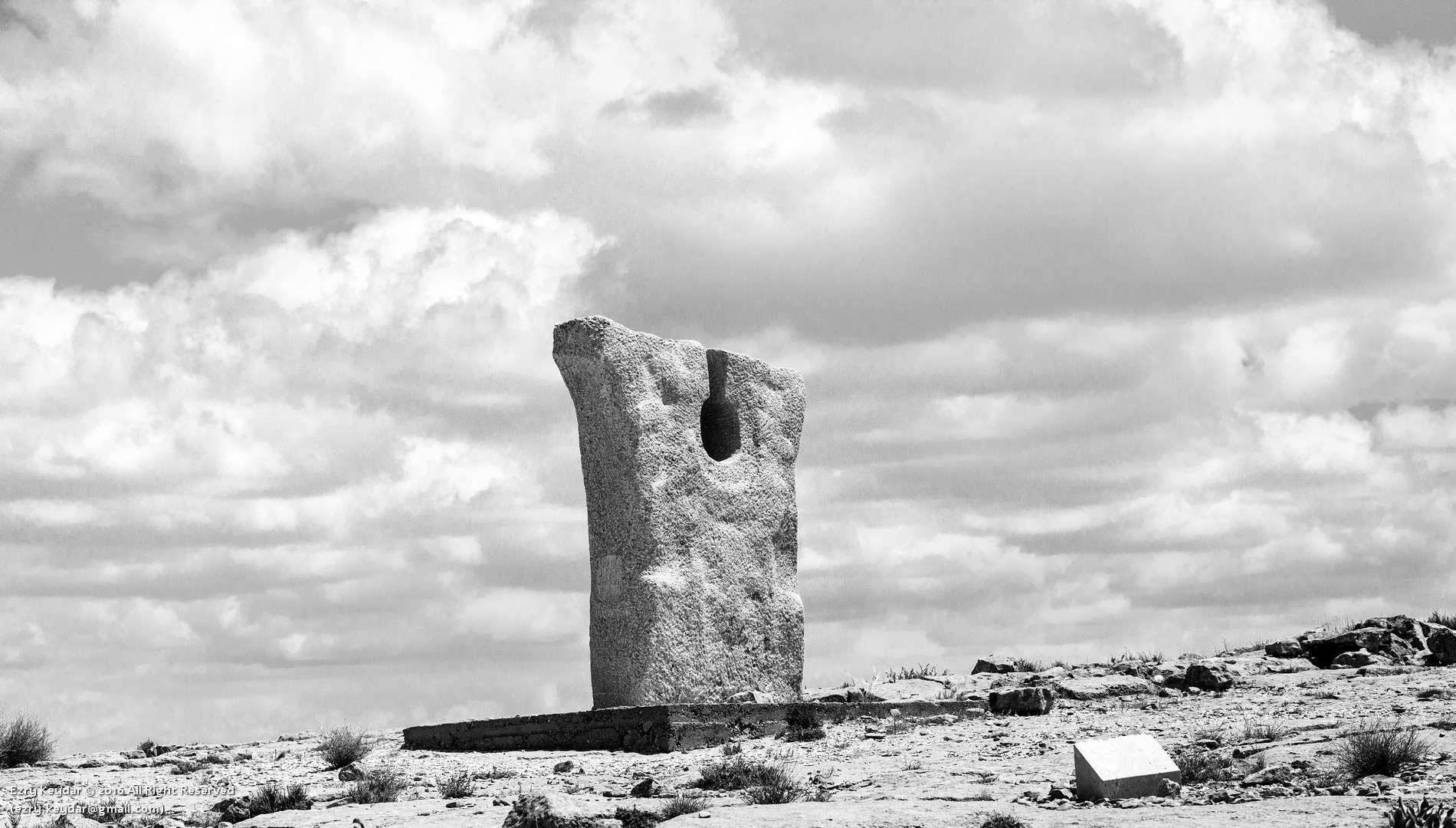 Desert Sculpture Park, Mitzpe Ramon, Yasumo Mizui, Homage to the Negev