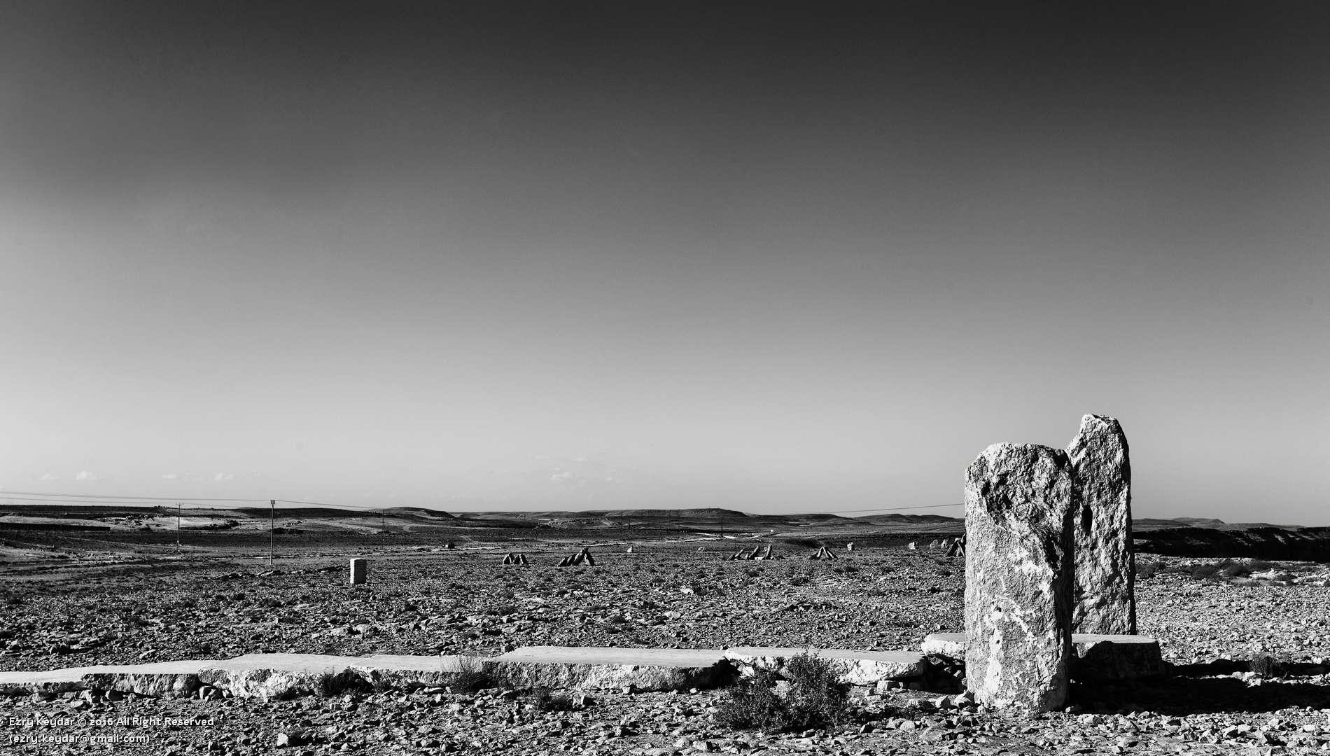Desert Sculpture Park, Mitzpe Ramon, Noam Rabinovich, Slope